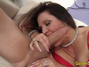 Unqualified Hardcore Drilling for Adult Brunette Leylani Wood