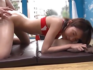 Try to await for Japanese chick in Crazy JAV video, await it