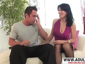 Hot Stepmom Zoe Hollaway Ride Cock Sweet Affectionate Sons Friend