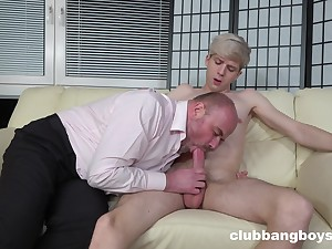An impeccable ass fucking gay play between the son and his stepdad