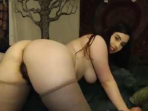 Naughty Staggering Girl loves playing on Webcam with you