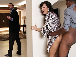 Spouse returned shortly housewife record lose BIG BLACK COCK