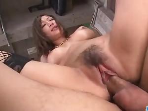 Staggering solo porn scenes along superb Aika