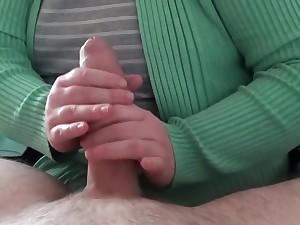 My first handjob on video