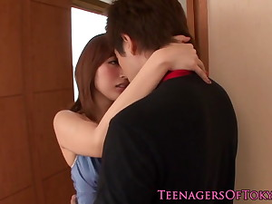 Awesome japanese teen babe fucking companionable