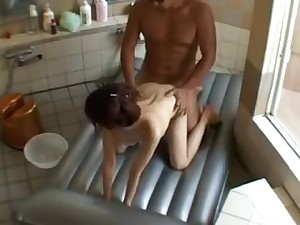 X-rated Asian Masseuse Gives A Full Body Rub, Then Blows And G