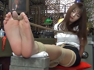 Unbelievable Japanese unfocused in Incredible Casting, Foot Fetish JAV chapter show