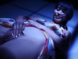 Japanese Pornstar Marica Gets Nude