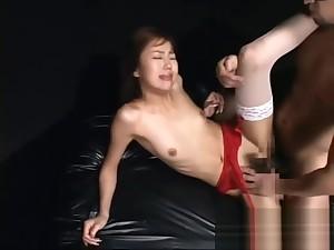Extreme messy Japanese bukkake