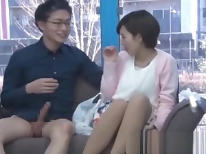 Japanese Dude Teach Teen How To Fuck Glass Walls 25