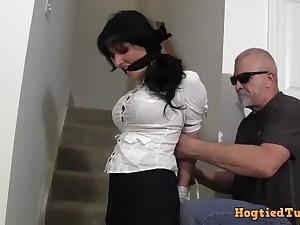 hannah perez - hot MILF bondage porn