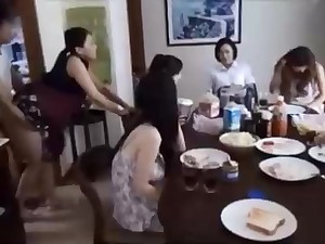 Naughty Chinese henchman is banging his wifey forward his family, and caring it