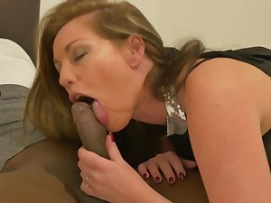 Holly Kiss and a handsome, black beggar are fucking in front of a hidden camera